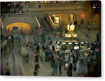 Grand Central Terminal Canvas Print by Romel Tropel
