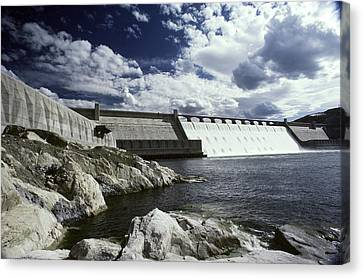 Grand Coulee Dam Canvas Print