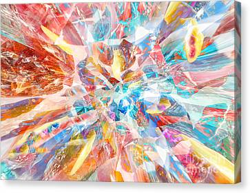 Canvas Print featuring the digital art Grand Entrance by Margie Chapman