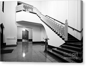 Canvas Print featuring the photograph Grand Entry by Lawrence Burry