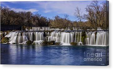 Grand Falls In Joplin Missouri Canvas Print