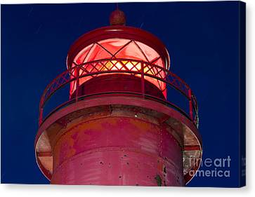 Grand Haven Lighthouse Canvas Print by Twenty Two North Photography