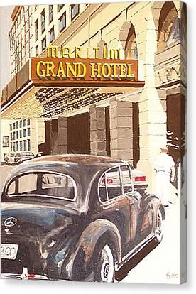 Grand Hotel East Berlin Germany Canvas Print by Paul Guyer
