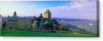 Grand Hotel In A City, Chateau Canvas Print