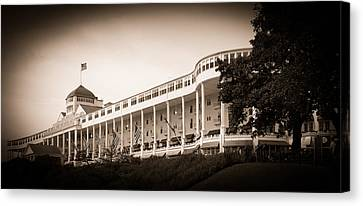 Grand Hotel Canvas Print by James Howe