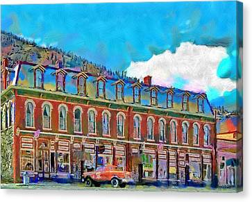 Grand Imperial Hotel Canvas Print by Jeff Kolker