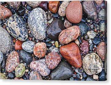 Grand Marais Beach Canvas Print