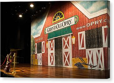 Grand Ole Opry Canvas Print
