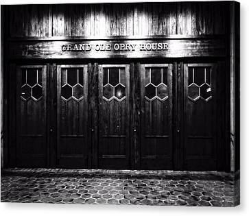 Grand Ole Opry House Canvas Print by Dan Sproul