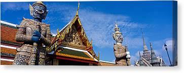 Grand Palace, Bangkok, Thailand Canvas Print by Panoramic Images