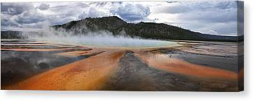 Grand Prismatic Spring Canvas Print by Rob Hemphill