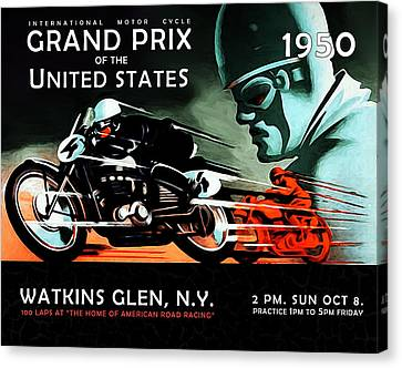 Grand Prix 1950 Canvas Print