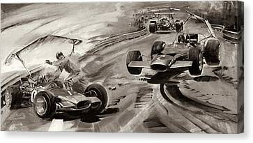 Grand Prix Problems Canvas Print