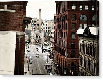 Grand Rapids 10 Canvas Print by Scott Hovind