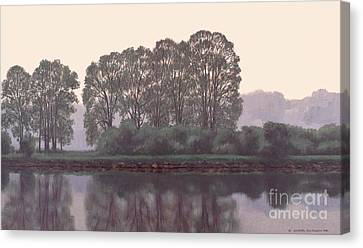 Grand River Sentinels Canvas Print by Michael Swanson
