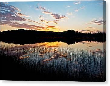 Grand Sable Lake Sunset Canvas Print