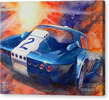 Grand Sport Canvas Print by Robert Hooper
