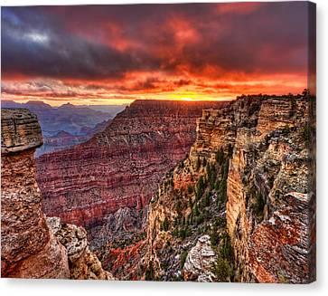Grand Sunrise Canvas Print