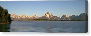 Grand Teton Sunrise Canvas Print by Brian Harig