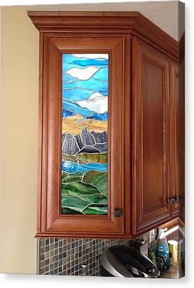 Grand Tetons Landscape Canvas Print