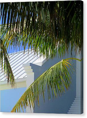 Grand Turk Architecture Canvas Print by Randall Weidner