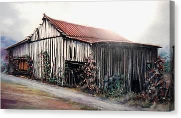 Grandaddy's Barn Canvas Print
