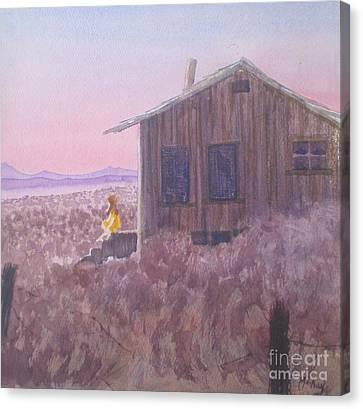 Granddad's Cabin Canvas Print