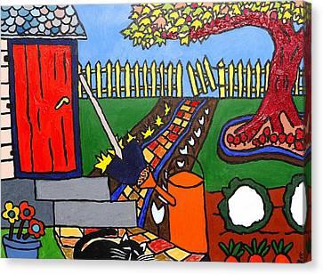 Granddad's Garden  Canvas Print