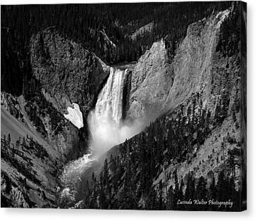 Canvas Print featuring the photograph Grandeur by Lucinda Walter