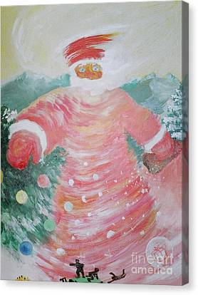Grandfather Frost Canvas Print