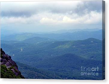 Grandfather Mountain Linville Nc Canvas Print
