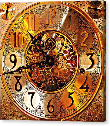 Grandfather Time Hdr Canvas Print by Frozen in Time Fine Art Photography
