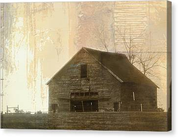 Grandfather's Barn Canvas Print by Lena Wilhite
