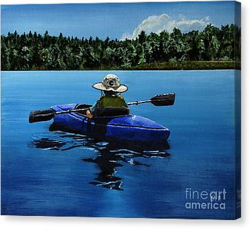 Grandma's Cabin Canvas Print by Chad Berglund