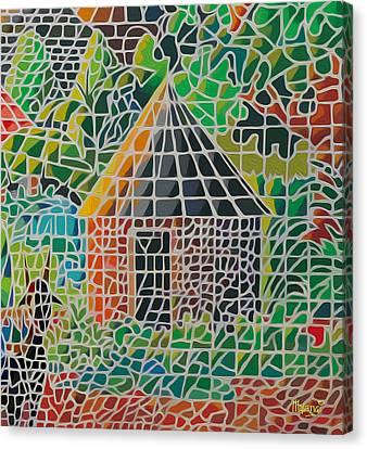 Grandma's House Canvas Print by Anthony Mwangi