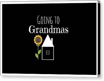 Grandmas House Canvas Print by Chastity Hoff