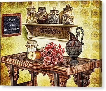 Grandma's Kitchen Canvas Print by Mo T