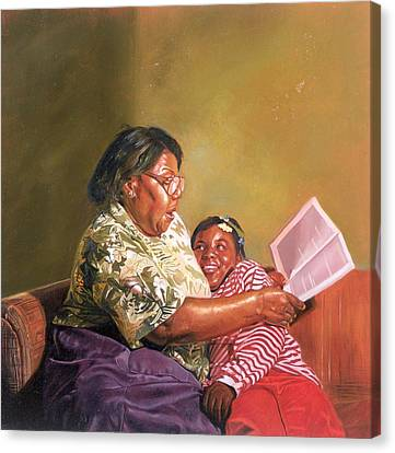 Grandmas Love Canvas Print by Colin Bootman