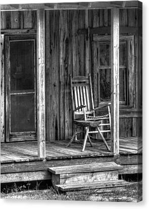 Canvas Print featuring the photograph Grandma's Rocker by Dawn Currie