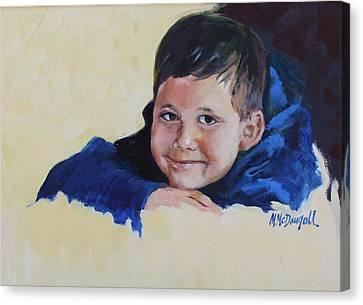 Grandson Canvas Print by Michael McDougall