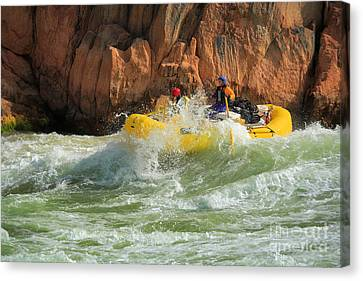 Granite Rapids Canvas Print by Inge Johnsson