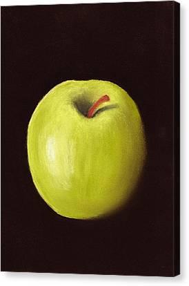 Granny Smith Apple Canvas Print by Anastasiya Malakhova