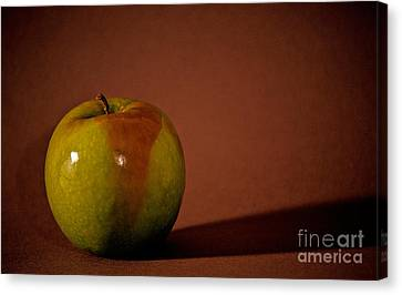 Granny Smith Canvas Print by Sharon Elliott