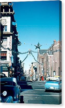 Grant Street 1956 Canvas Print by Cumberland Warden