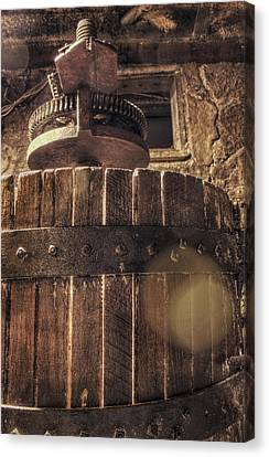 Grape Press At Wiederkehr Canvas Print