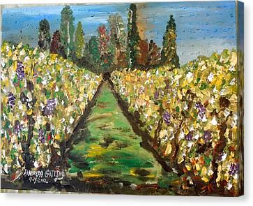 Grapes Of Tuscany Canvas Print