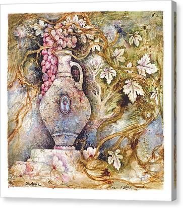 Grapevine Canvas Print by Michoel Muchnik