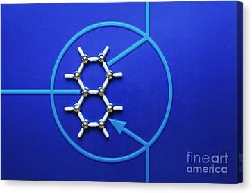 Graphene Transistor Canvas Print by GIPhotoStock