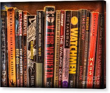 Graphic Novels - The Classics Canvas Print