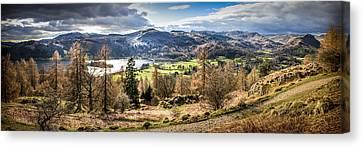 Grasmere Lake District National Park Canvas Print